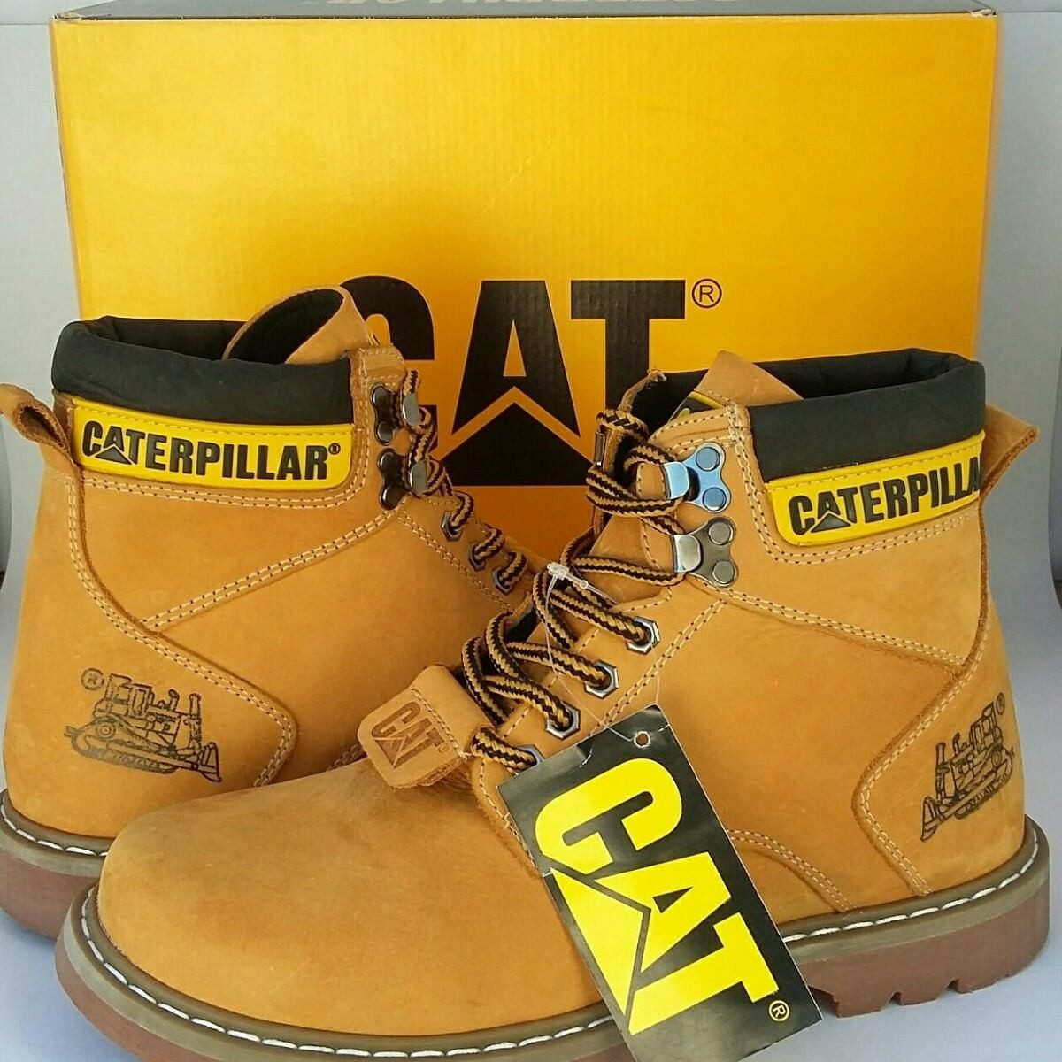 c988b81861 bota coturno caterpillar mans cat original couro legítimo. Carregando zoom.