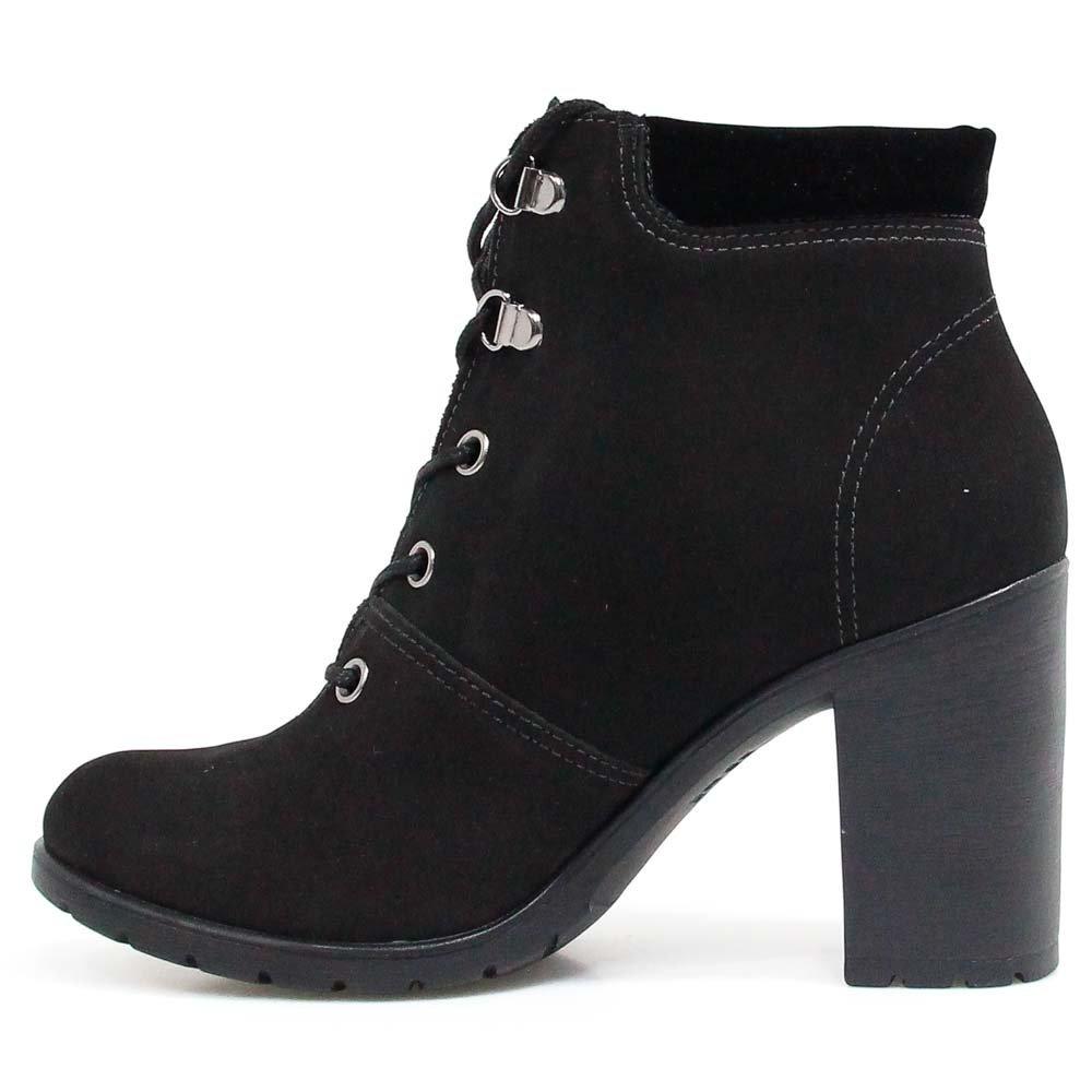 d9458bcdb Bota Coturno Dakota Ankle Boot Preta 8682 | Zariff - R$ 136,00 em ...
