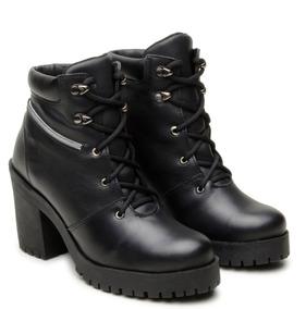 95f335bb5 Coturno Verniz Black Shoes Botas - Calçados, Roupas e Bolsas com o Melhores  Preços no Mercado Livre Brasil
