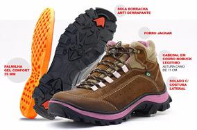 b4f477f8b3 Botas Femininas Coturnos Atron Shoes Marrom com o Melhores Preços no  Mercado Livre Brasil