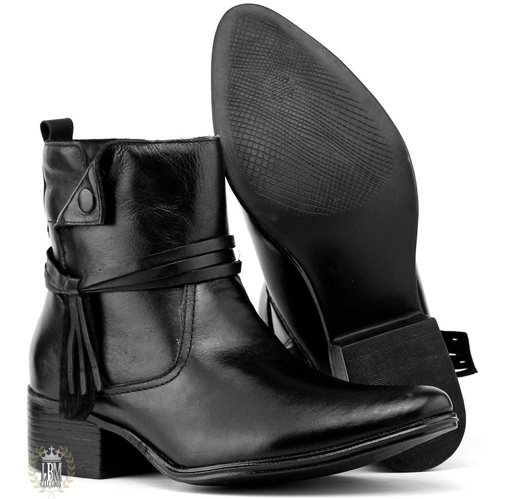 44cff9bc7b Bota Coturno Feminino Art Shoes Cano Curto Salto Alto - R$ 189,00 em ...