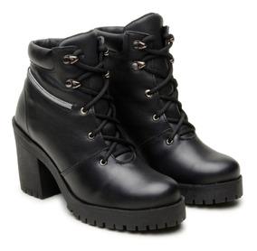 41b32a8148 Botas Tamanho 33 Femininas Coturnos 33 Atron Shoes com o Melhores Preços no  Mercado Livre Brasil