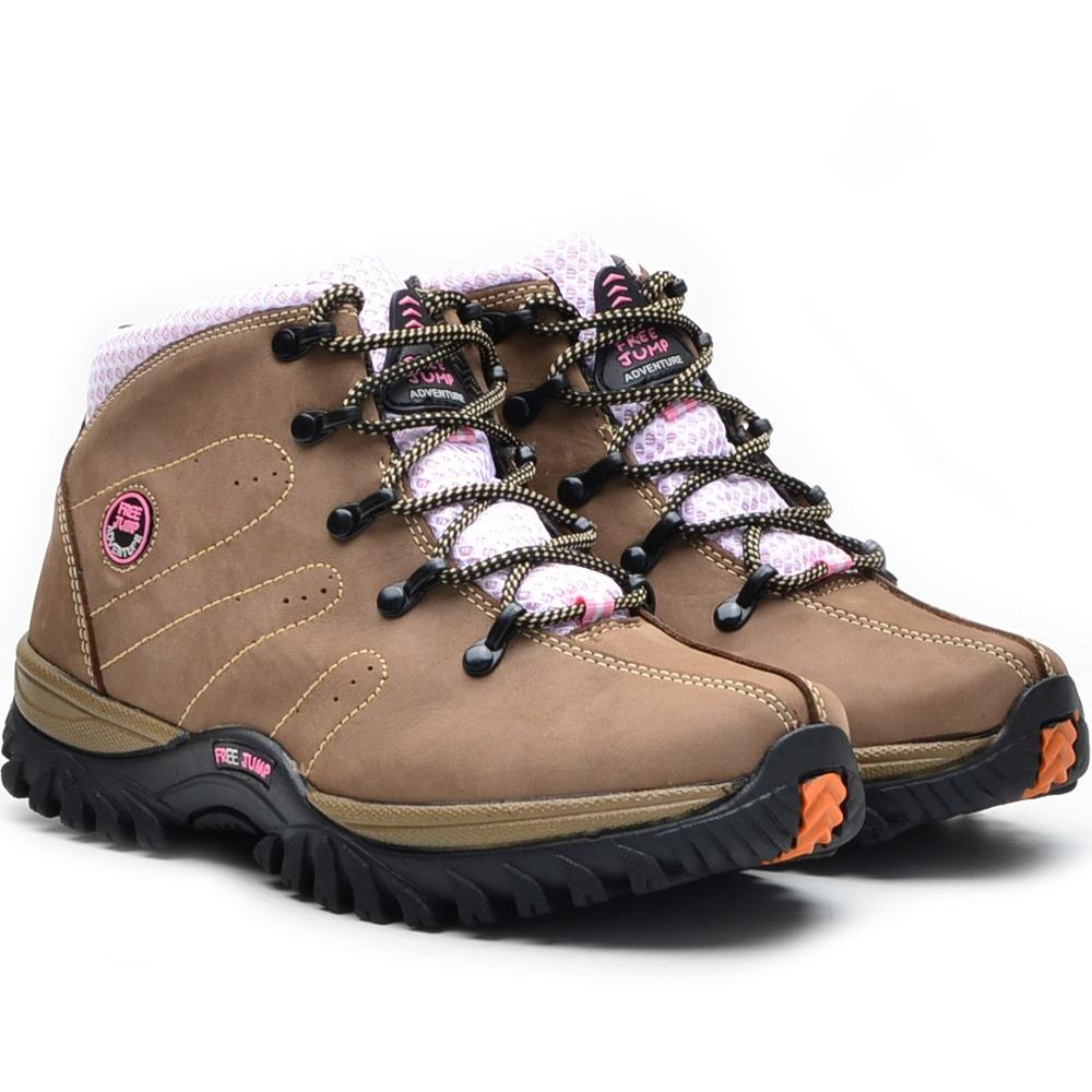 1fbb7bf9c bota coturno feminino em couro legitimo direto da fabrica. Carregando zoom.