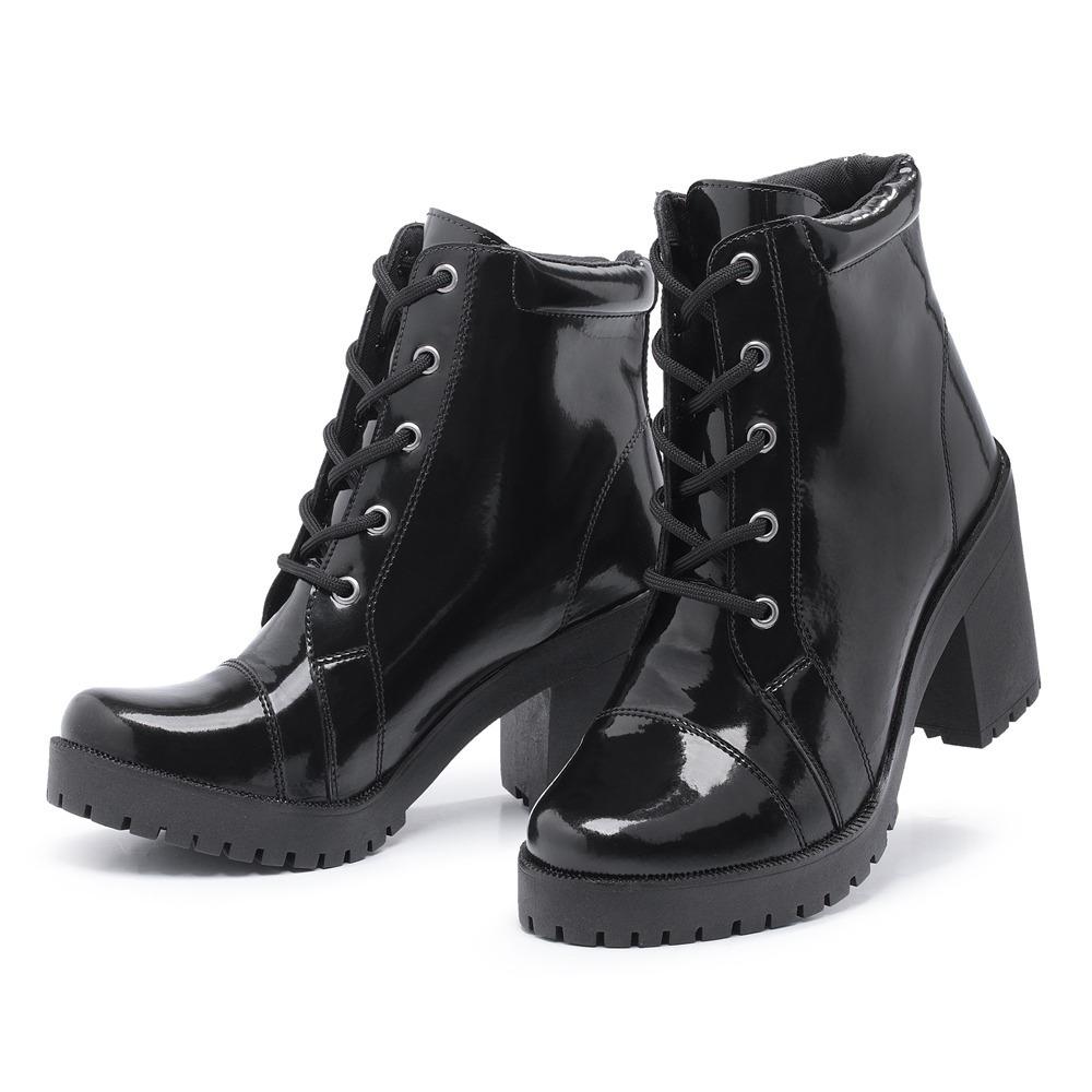 2c57a3eeeb bota coturno feminino salto alto tratorada calçados 2018. Carregando zoom.
