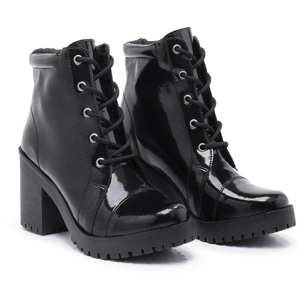 62d3fbc1b3 bota coturno feminino salto alto tratorada calçados oferta. Carregando zoom.