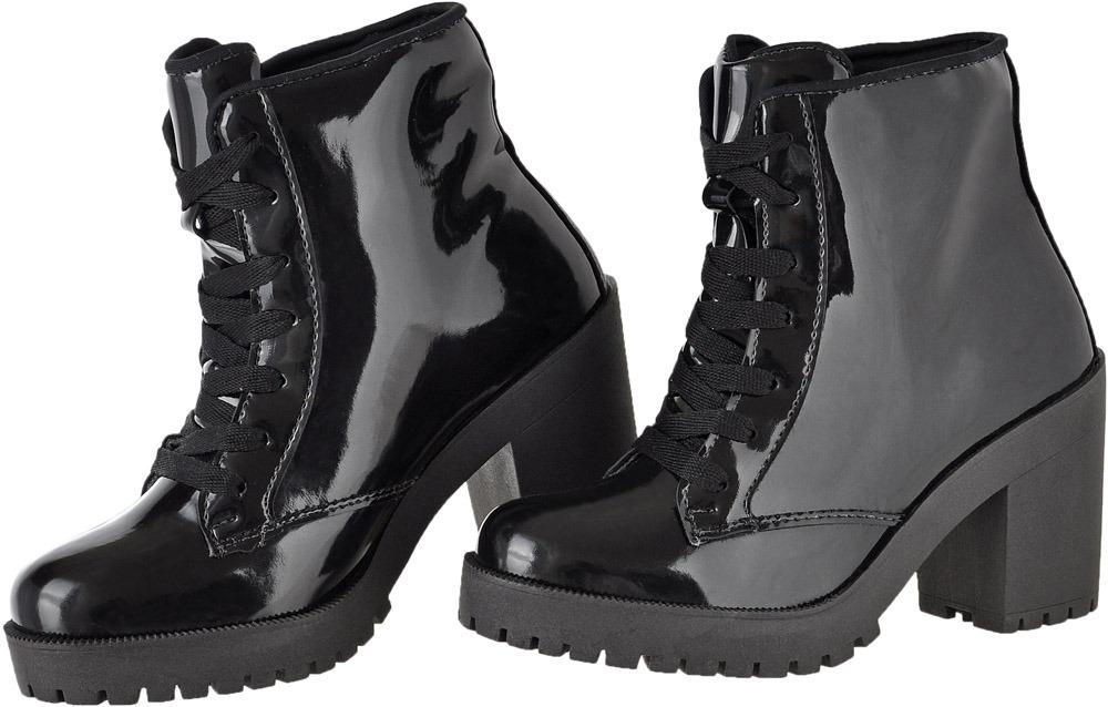 230b397f3 bota coturno feminino salto alto tratorada leve militar. Carregando zoom.