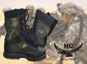 545695de18 Lona Camuflada Militares Botas - Botas Masculinas com o Melhores Preços no  Mercado Livre Brasil