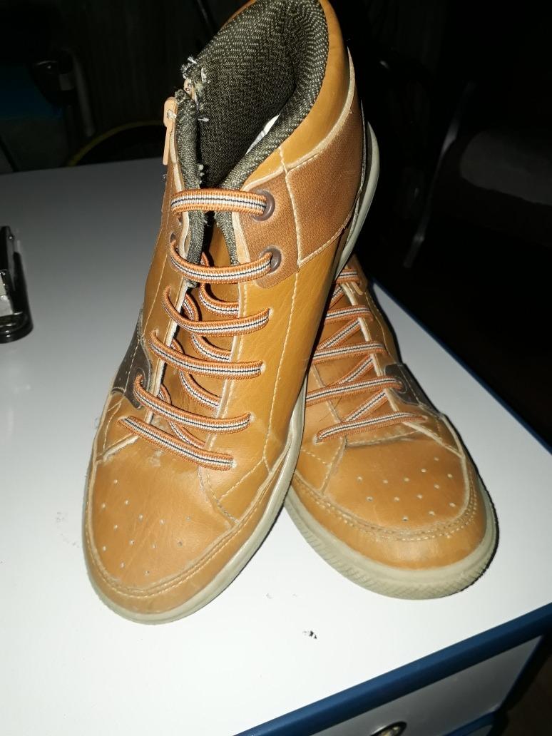 57fd6b2743 bota coturno infantil menino kidy com cadarço sapato. Carregando zoom.