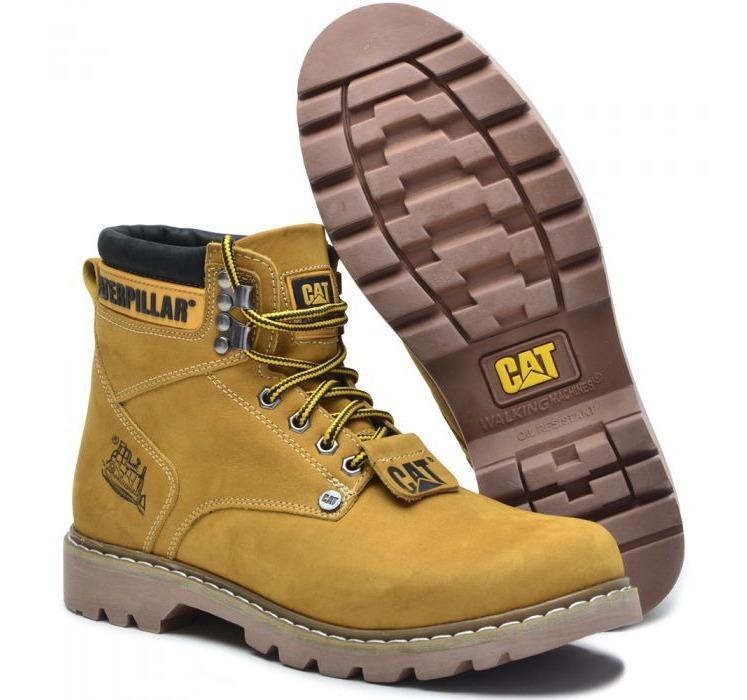 46a98b4c2cef3 Bota Coturno Masculino Caterpillar Cat Original 100% Couro - R  120 ...