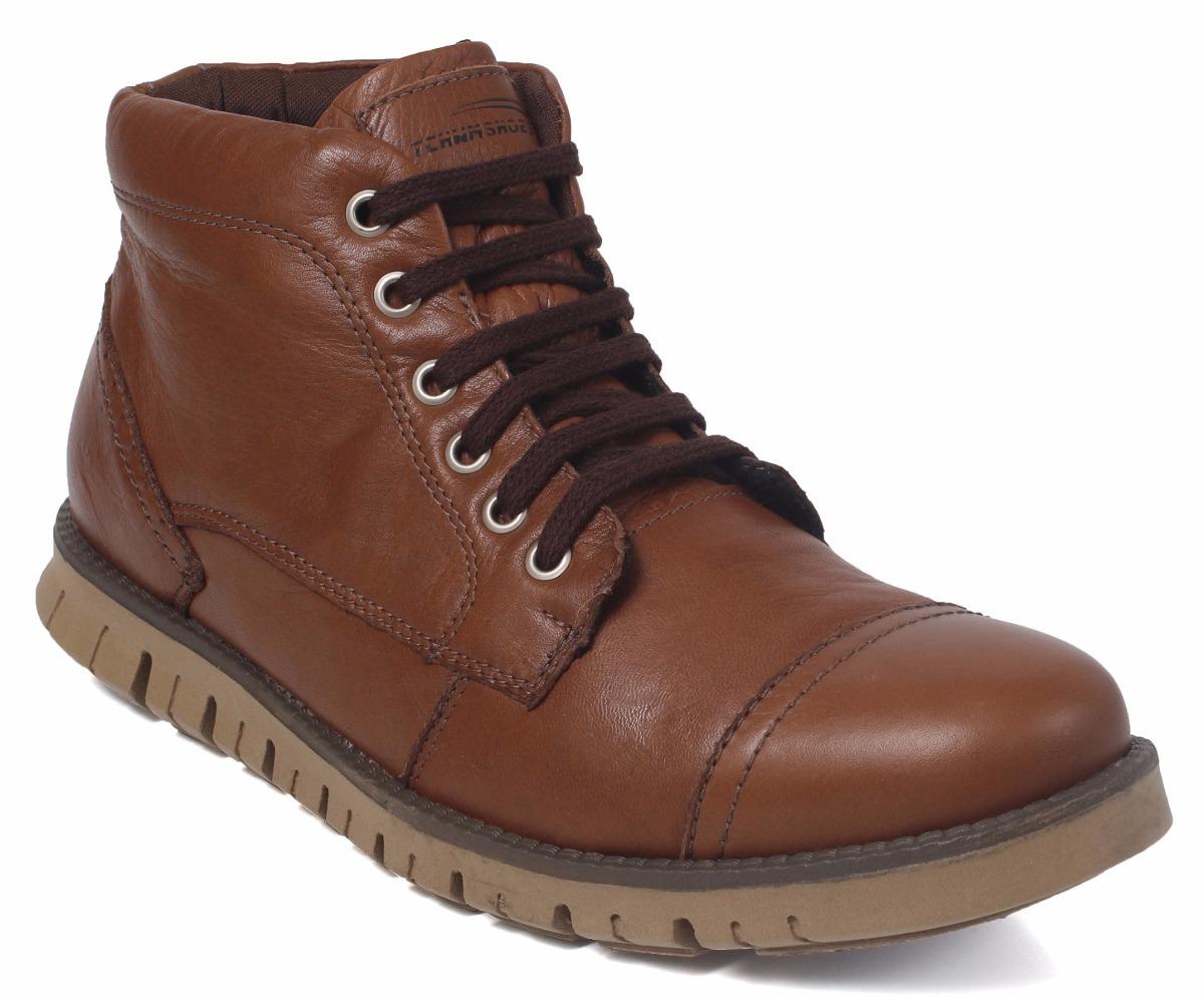 3b580252ab bota coturno masculino adventure couro casual social worker. Carregando  zoom.
