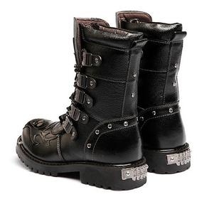 9f56280459 Bota Punk - Calçados, Roupas e Bolsas com o Melhores Preços no Mercado  Livre Brasil