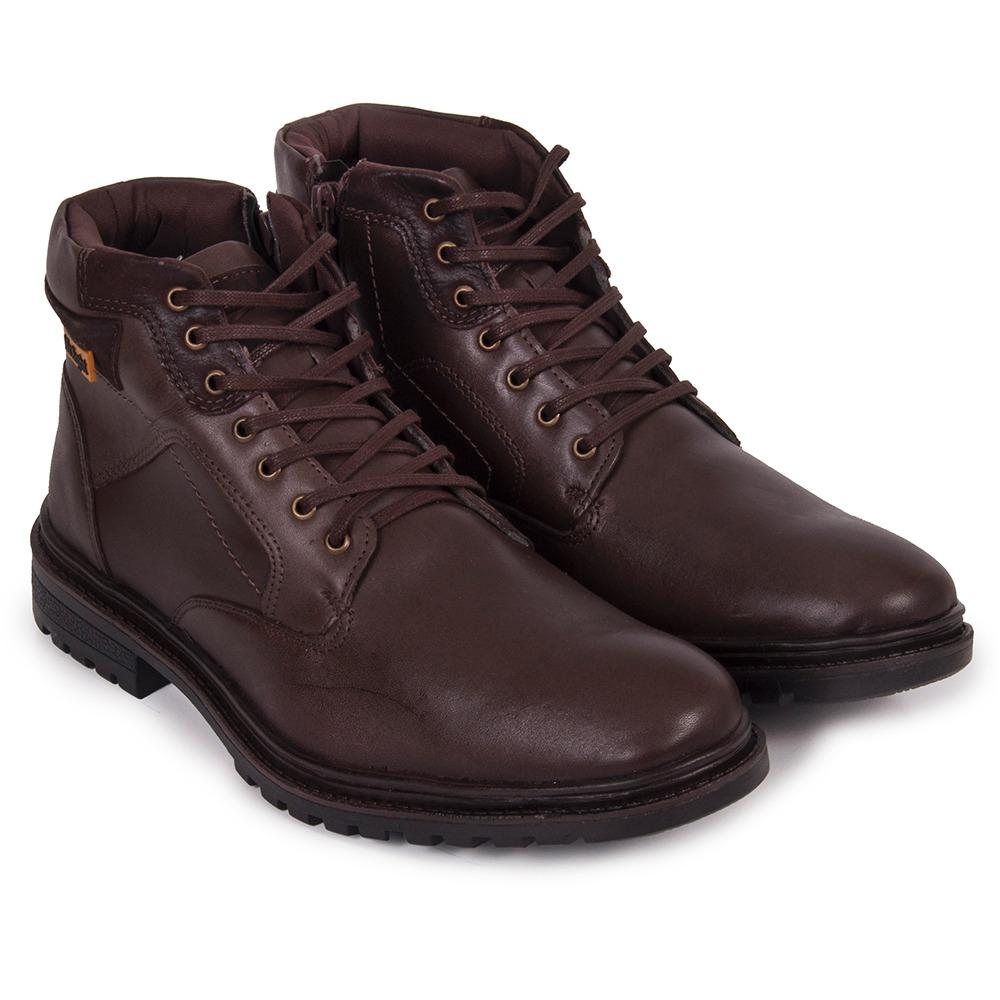d7ba3a6327 bota coturno masculino mr. light couro legitimo comfort. Carregando zoom.