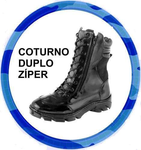 bota coturno militar motoqueiro bope palm.gel* frete grátis*
