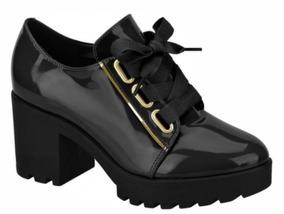 d4bdd57ee7e Sapato Oxford Vizzano Nude - Botas Preto com o Melhores Preços no Mercado  Livre Brasil