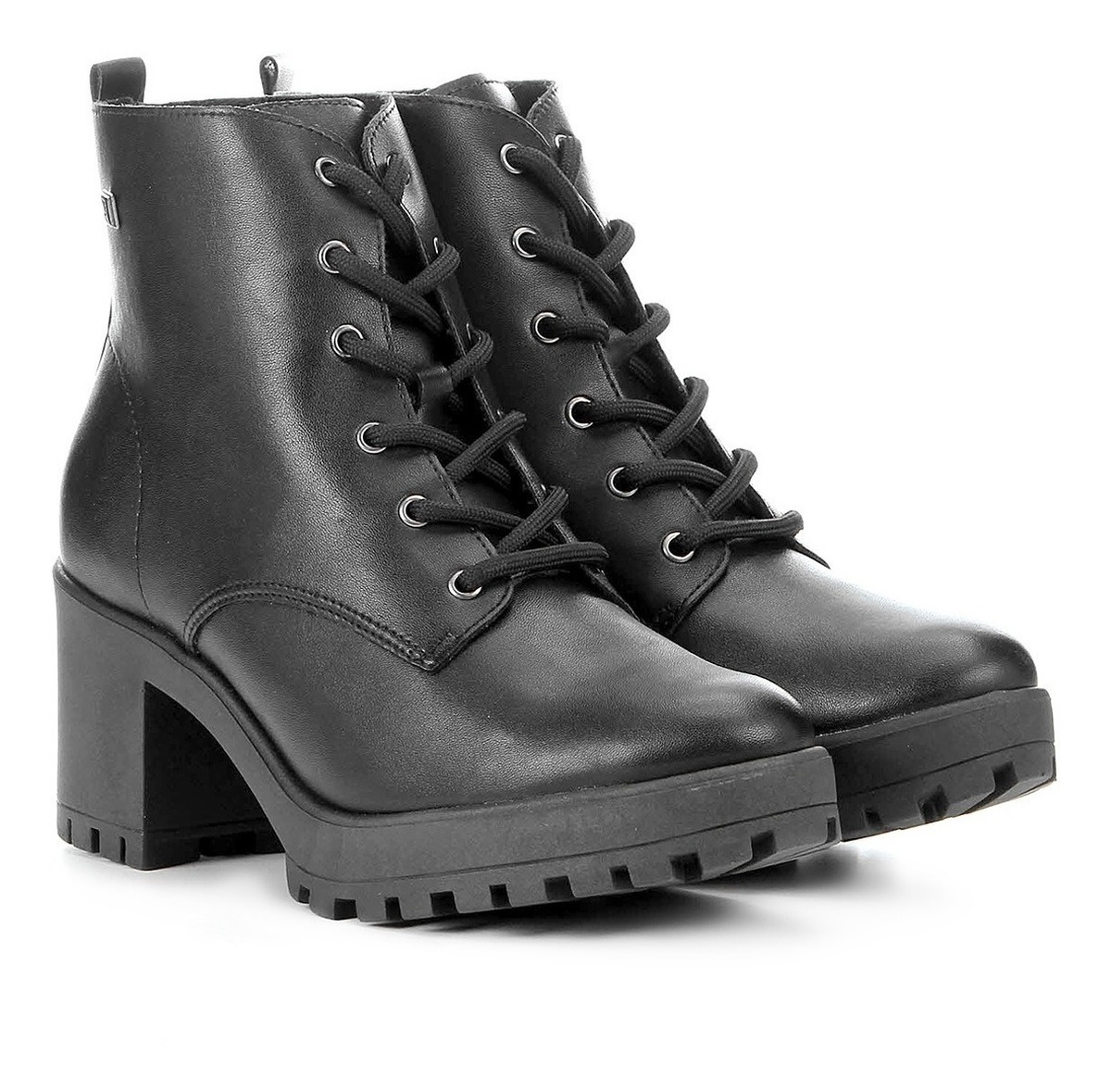 2f26d2099 bota coturno ramarim ankle boot 1956101 preto original. Carregando zoom.