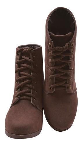 bota coturno sapato feminino chiquiteira chiqui/3726