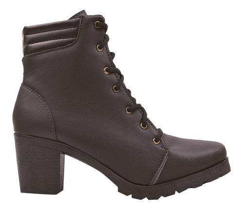 bota coturno sapato feminino chiquiteira chiqui/3782