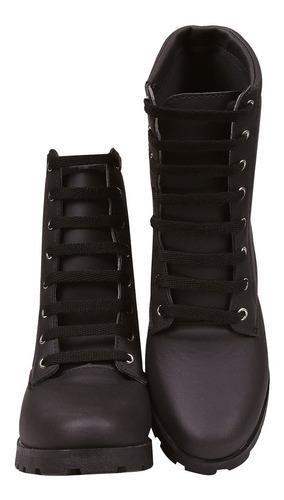 bota coturno sapato feminino chiquiteira chiqui/4056