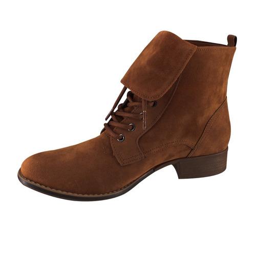 bota coturno via marte 16-3607   katy calçados