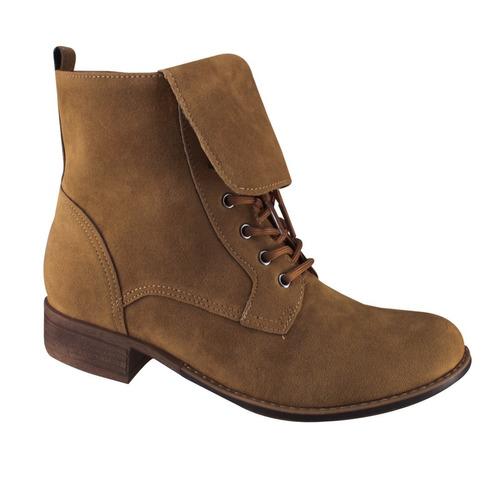 bota coturno via marte 16-3607 | katy calçados
