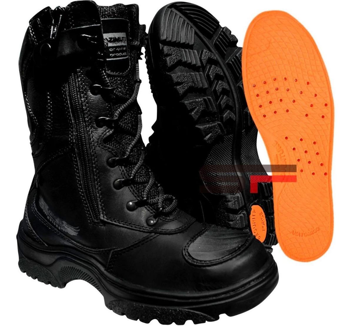 62e822a0fc bota coturno zíper lateral militar moto segurança pm tático. Carregando zoom .