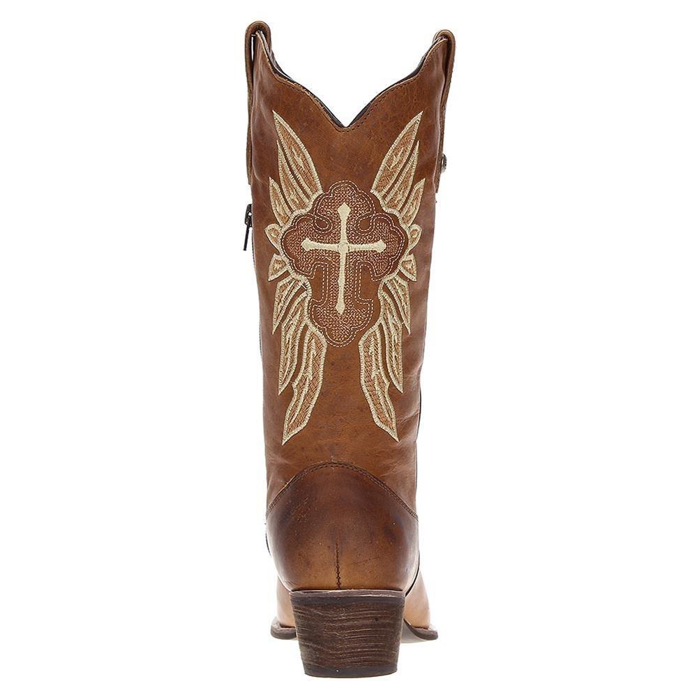 d86e4a1451081 bota country de couro feminina cano longo via art 19688. Carregando zoom.