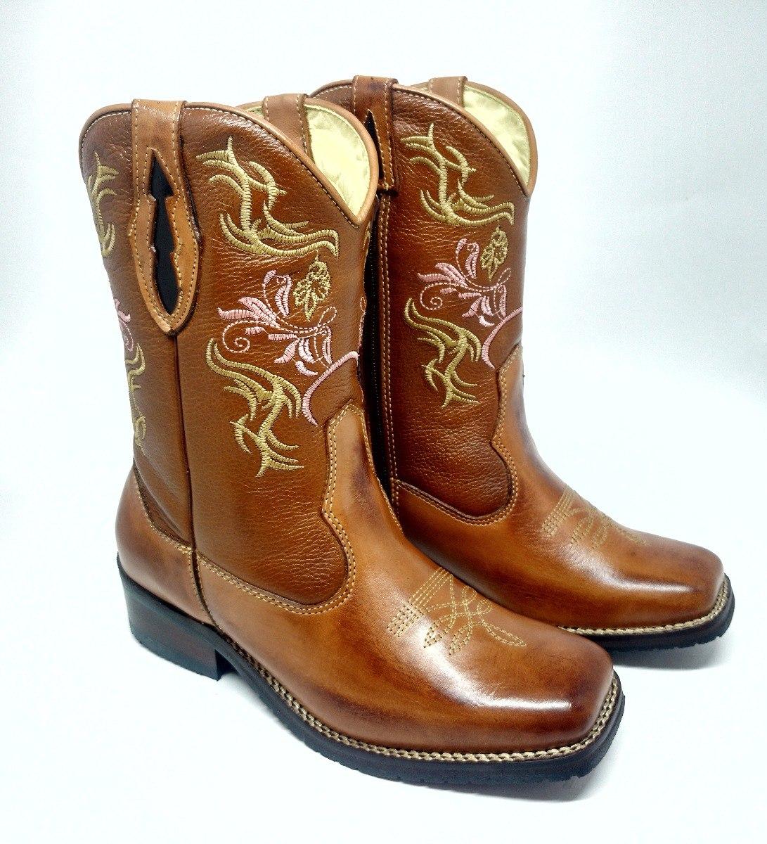 281dc4185c bota country feminina texana bico quadrado couro rodeio. Carregando zoom.