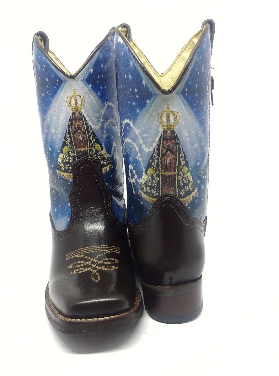 a155b54189 bota country feminina texana bico quadrado nossa senhora. Carregando zoom.