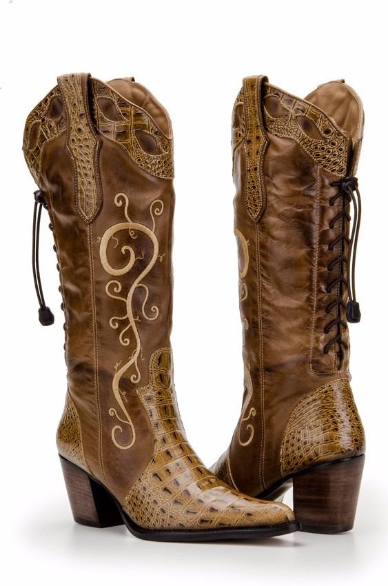 cc773264009 bota country feminina texana bordada couro capelli boots. Carregando zoom.