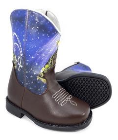094f010b1f384e Bota Country Infantil Texana Feminina Cowboy Ki-fofo 8170