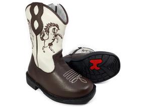 146621b8bf2ae3 Bota Country Infantil Texana Rodeio Cowboy Peão Kifofo 8166