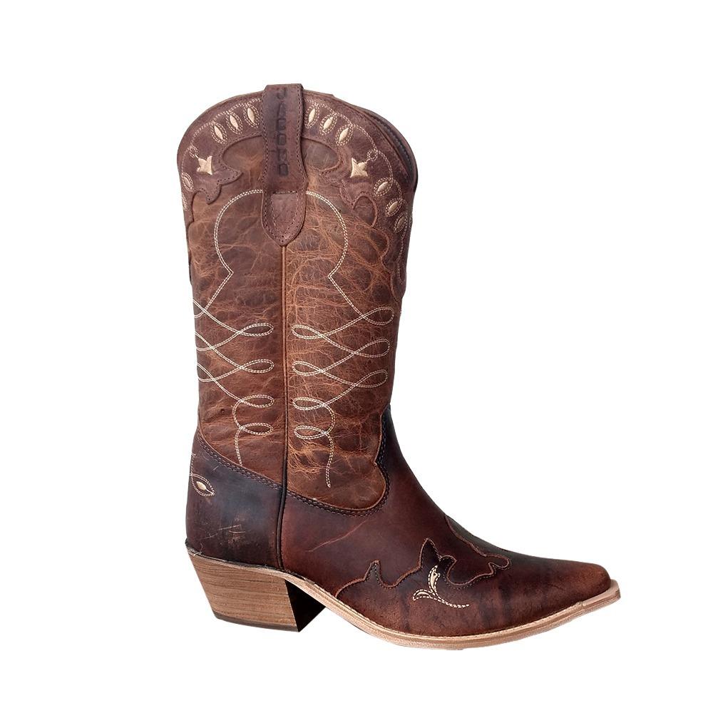 7cc3565249e bota country jácomo feminina couro bico fino 9221 promoção. Carregando zoom.