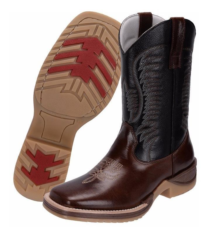 6fe104f6576d7 bota country masculina bico quadrado texana cano longo 990. Carregando zoom.