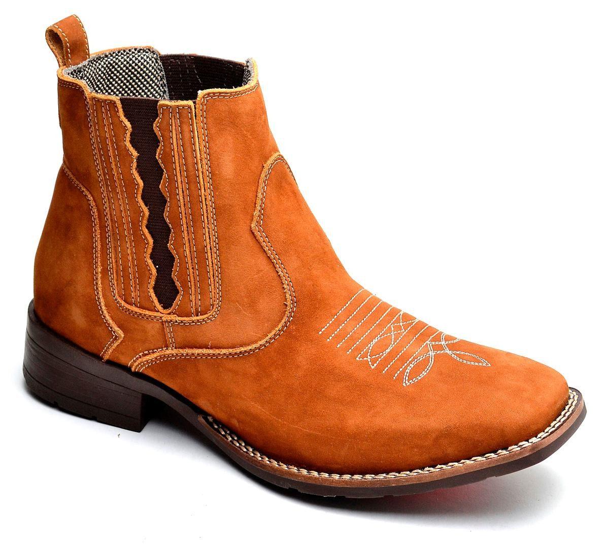 feed997a18 bota country masculina cano curto texana bico quadrado couro. Carregando  zoom.