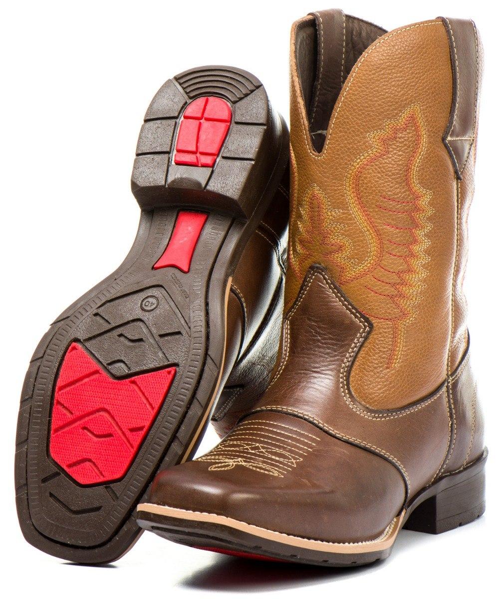 539f166d4ea bota country masculina cano festa texana rodeio couro rodeio. Carregando  zoom.