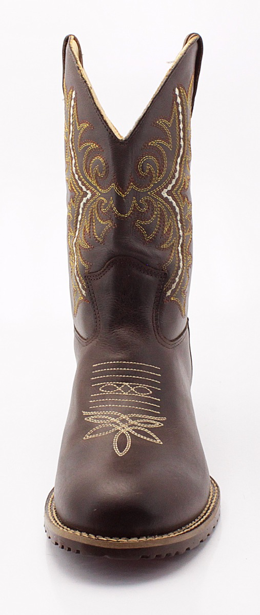 1e38e51b1a3ec Carregando zoom. d0f539a4ac7fde  bota country masculina cano longo floral  rodeio couro escuro. Carregando zoom.