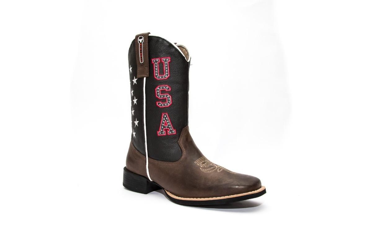 bota country masculina cano longo texana bico quadrado couro. Carregando  zoom. 96d1d6ff545