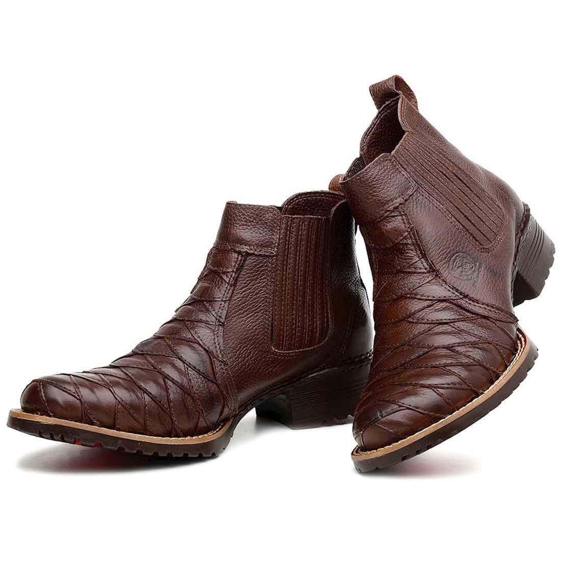 c5f1398689 bota country masculina escamada botina couro nobre moderna. Carregando zoom.