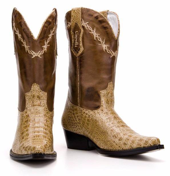 7918e9fa29 Bota Country Masculina Texana Bico Fino Capelli Boots 7002 - R$ 299,90 em  Mercado Livre
