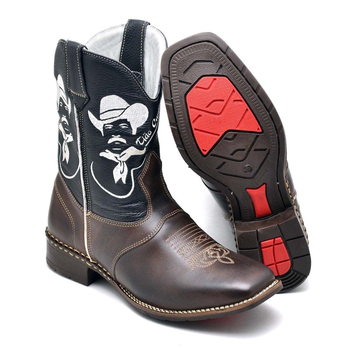 bota country masculina tião carreiro bico quadrado viola bul. Carregando  zoom. 291645d84e3