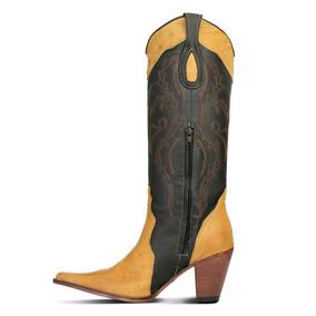 4aa790eb23 Bota Couro De Avestruz Strut Feminino Botas - Sapatos com o Melhores Preços  no Mercado Livre Brasil