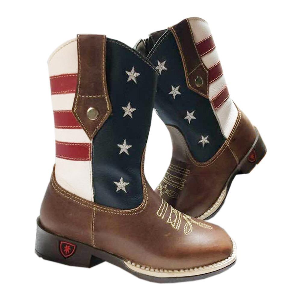 7d4f8c9950c5e bota country texana infantil eua masculina menino 100%. Carregando zoom.
