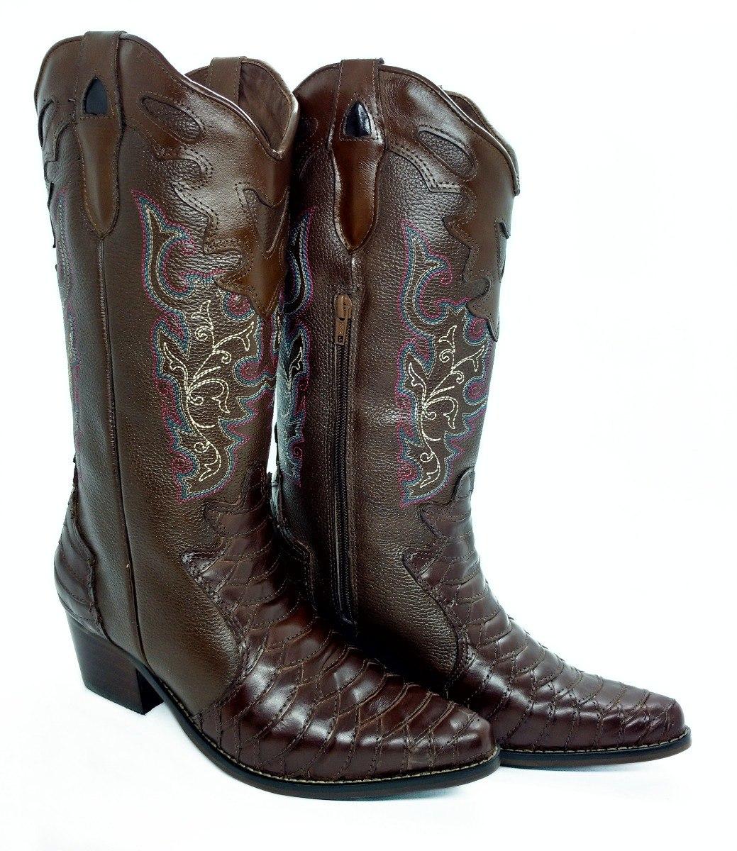 45bb8c6f8f1 bota country texana montaria bico fino escamada feminina. Carregando zoom.