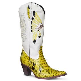 cccf11baa Bota Feminina Country - Botas Silverado para Feminino no Mercado ...