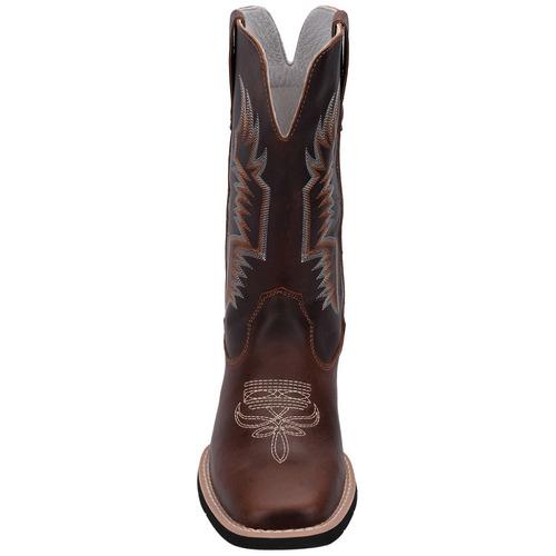 2c82e3a0001c0 Bota Country Texana Unissex Bordada Couro Bico Quadrado 700 - R  282 ...