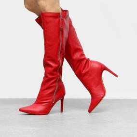 654b5592e Blusa Tainara Mulher Botas - Calçados, Roupas e Bolsas Vermelho no ...