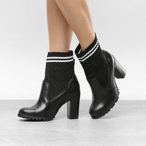396d2b9ed Bota Cano Curto Feminina Cravo Canela - Sapatos no Mercado Livre Brasil
