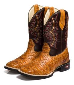 21f39975b6 Bota Texana Rosa Escamada - Sapatos com o Melhores Preços no Mercado Livre  Brasil