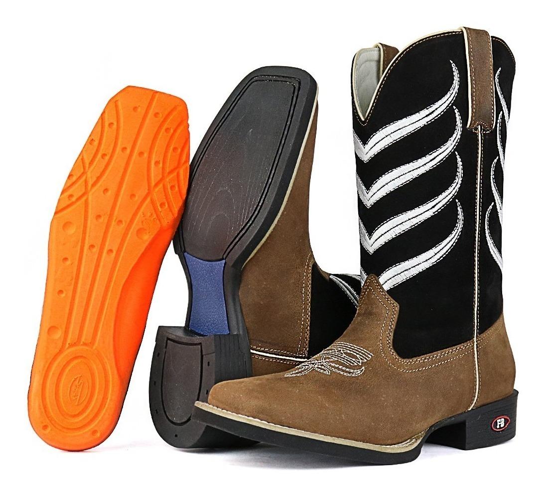 ac6ade72cf006 bota cowboy masculina botina cano longo texana gel promoção. Carregando zoom .