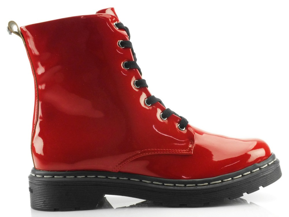 59a0e1ca30f26 bota coturno cravo e canela verniz vermelho 85635. Carregando zoom... bota  cravo canela. Carregando zoom.